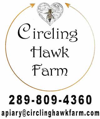 Circling Hawk Honey Farm Logo