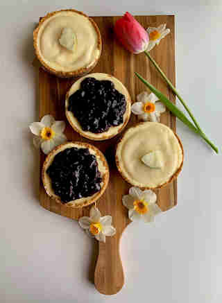 Haskap Berry & Lemon Cheesecake 6 pack